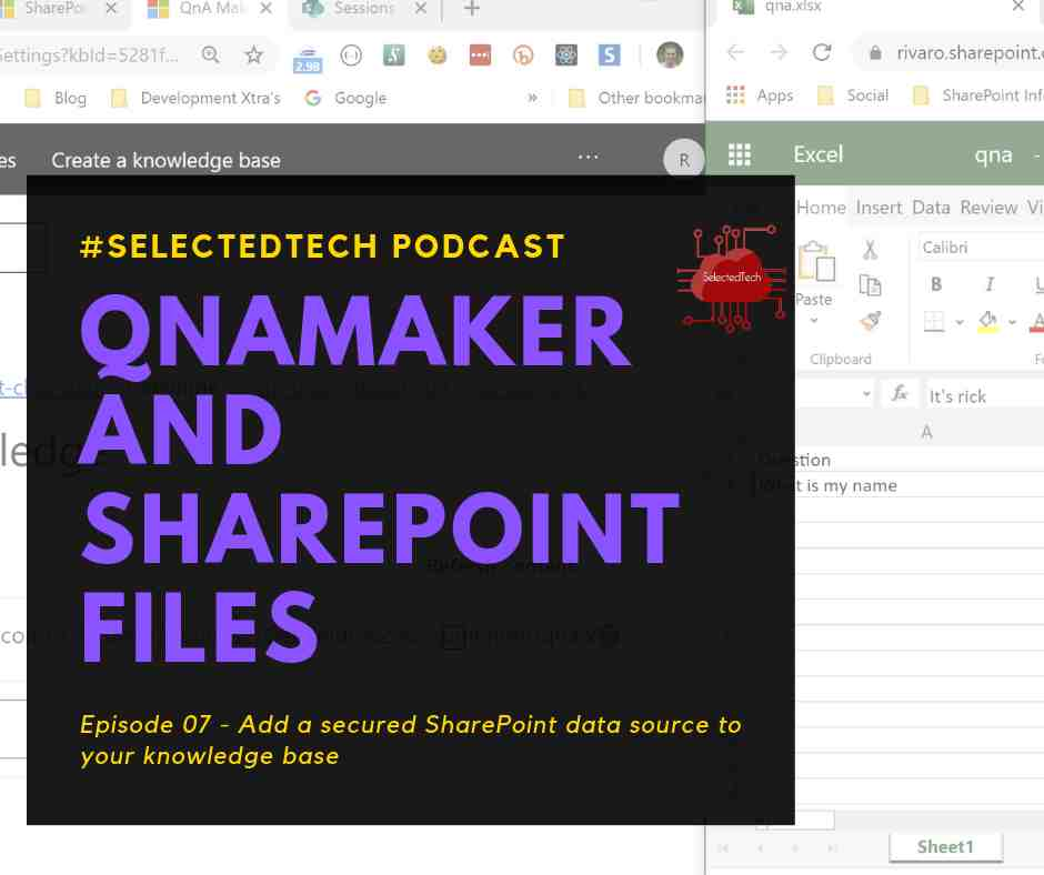 QnAMaker and SharePoint files