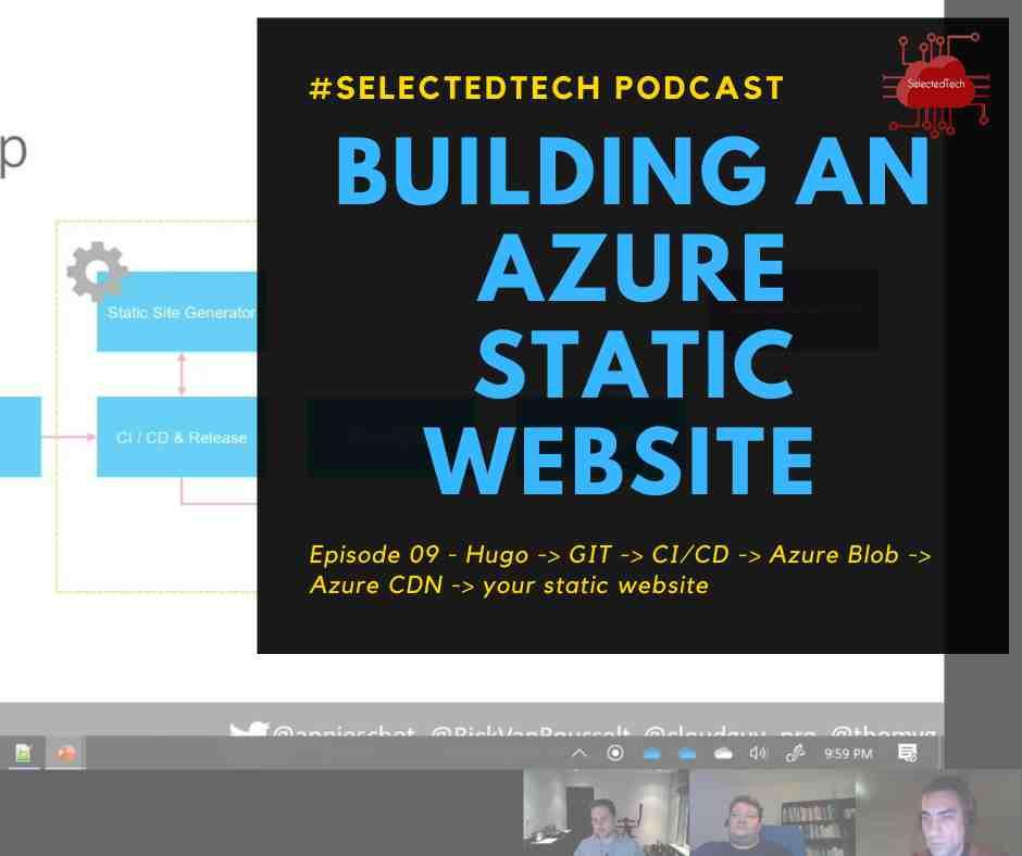 Building an Azure Static website