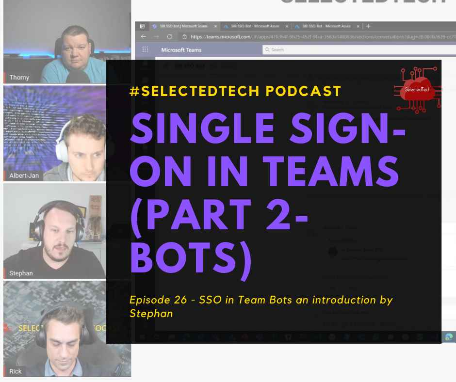 Single Sign On in Microsoft Teams for Chatbots