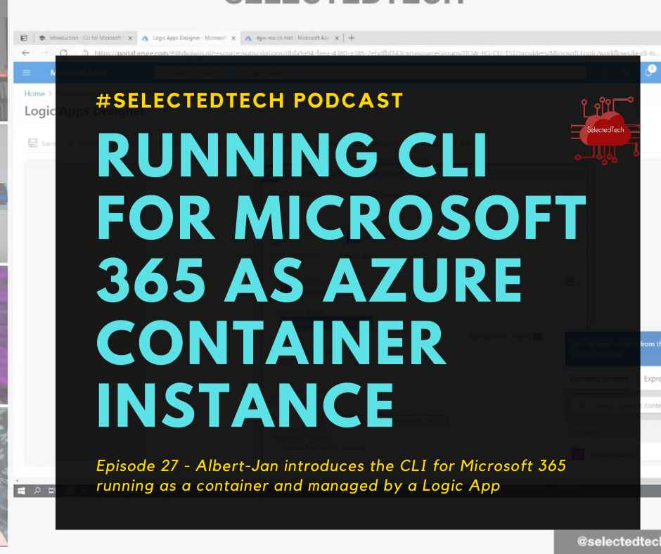 Running CLI for Microsoft 365 as Azure Container Instance