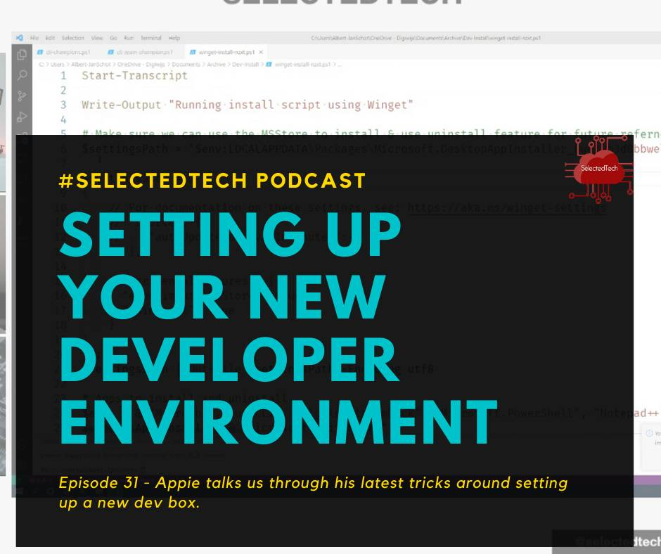 Setting up your development environment with Endpoint Manager